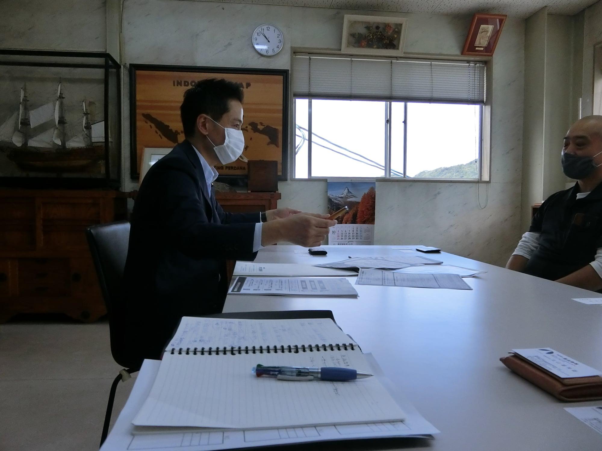 美浜町、若狭町、敦賀市の事業所を訪問