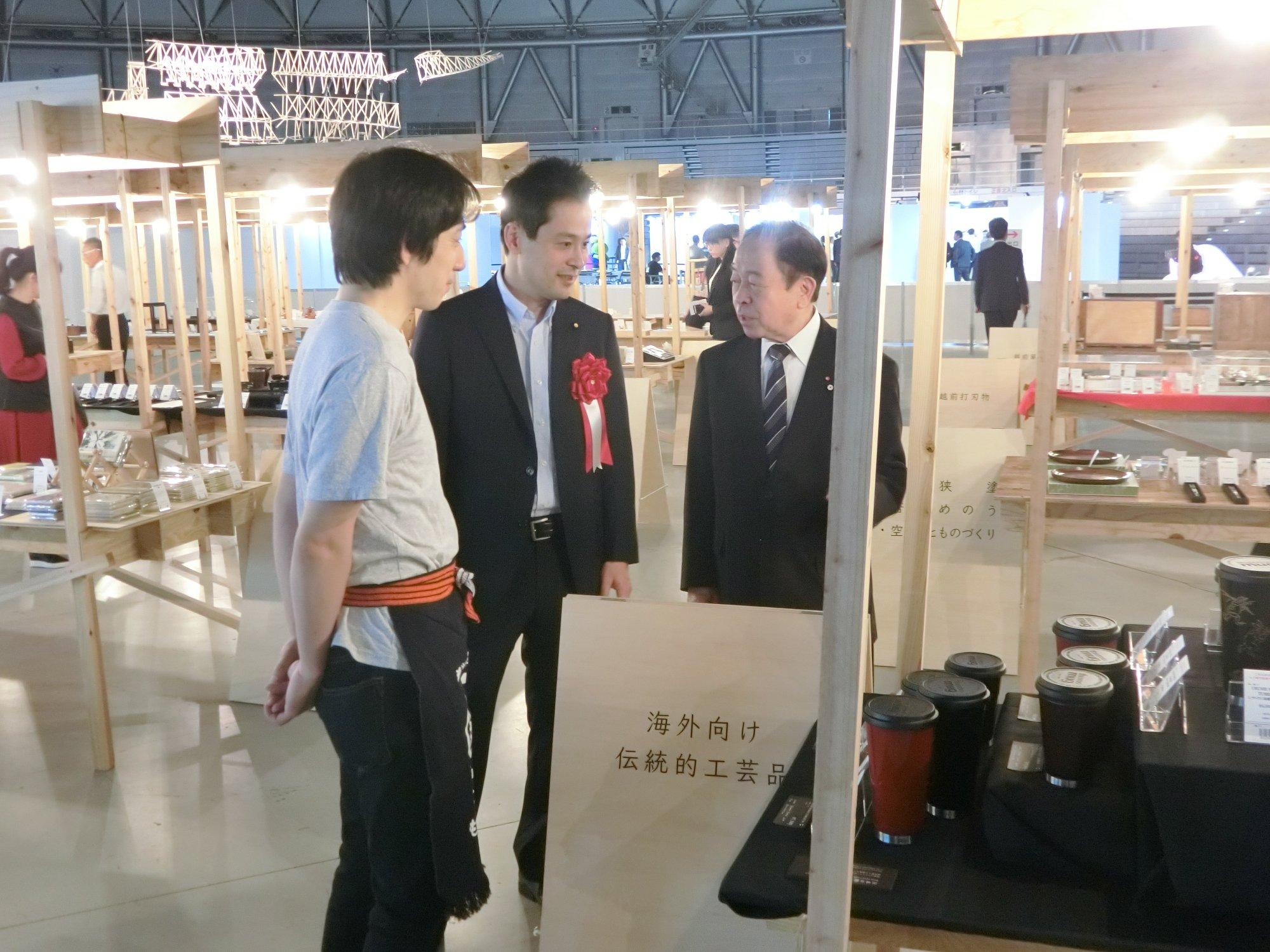 ヨーロッパ等世界中へ地元工芸品の販路を拡げていきます