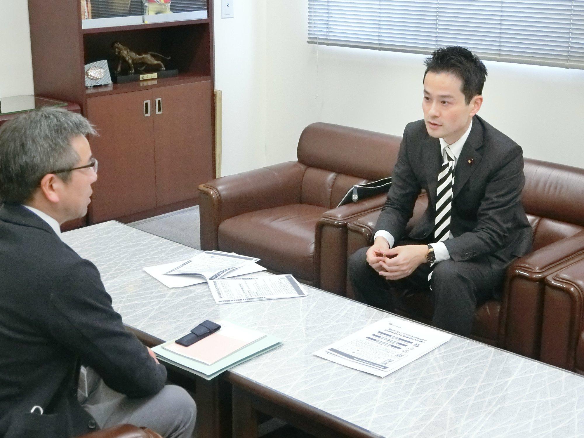 丹南・福井市の企業を訪問