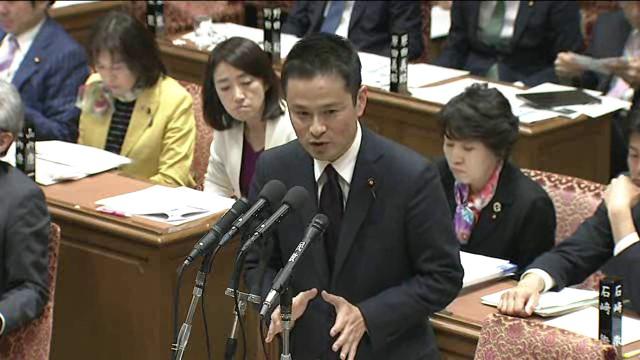 予算委員会で福井豪雪対応を真っ先に質問!