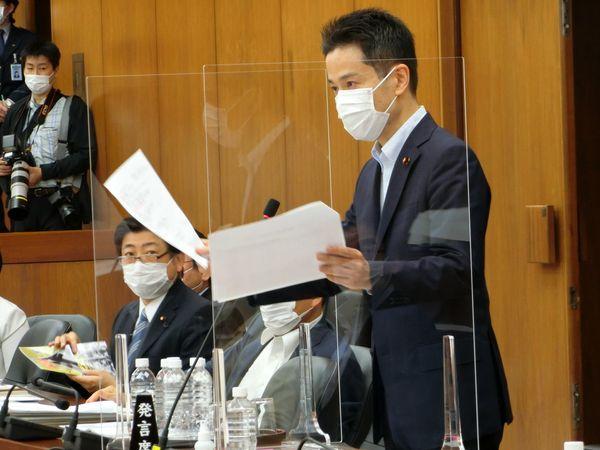 文科委員会で急拡大するオリンピック経費について質疑