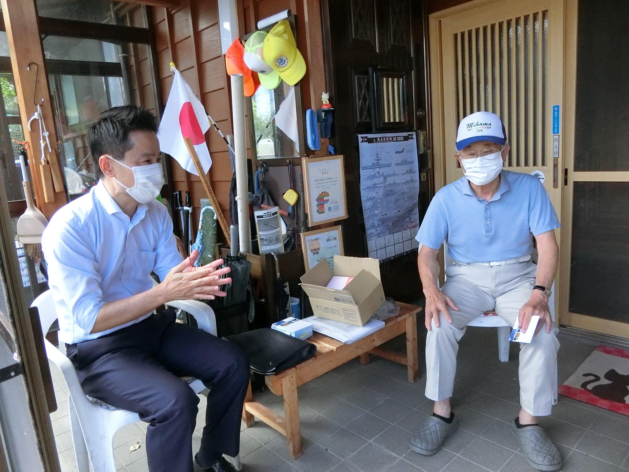 美浜、敦賀で旅行業の皆様から様々なご意見をいただきました。