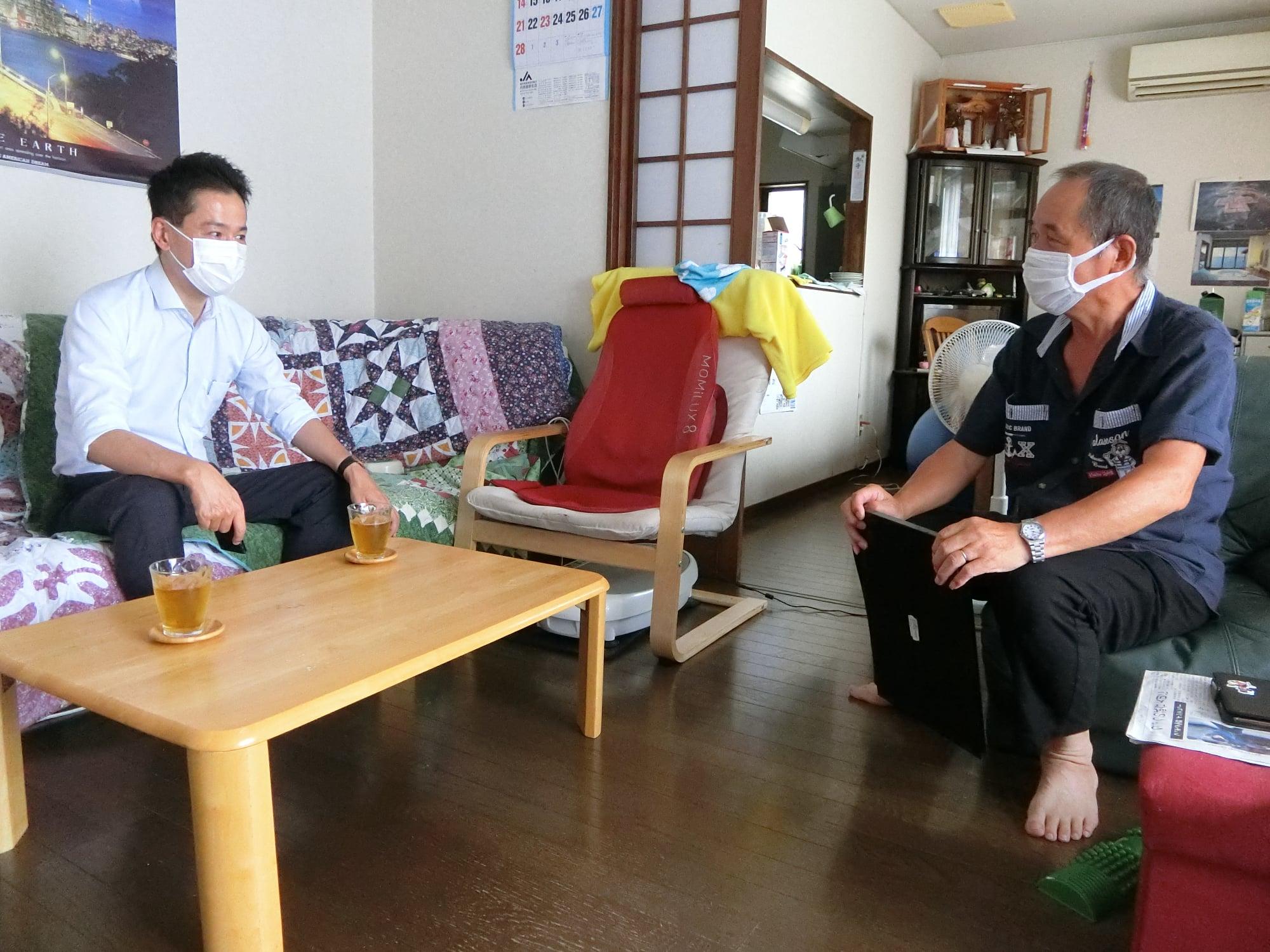 日曜・月曜は鯖江市、越前市を訪問