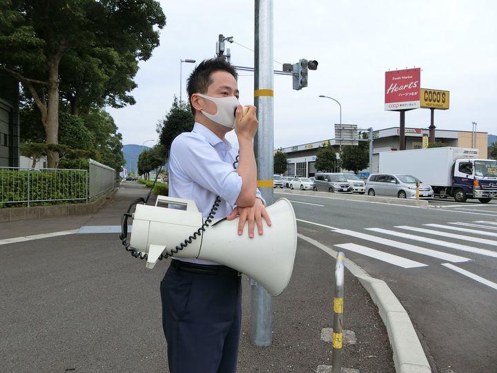 敦賀市内で。介護事業者、自治会、障害者福祉、民宿経営、自動車販売などの方々と意見交換