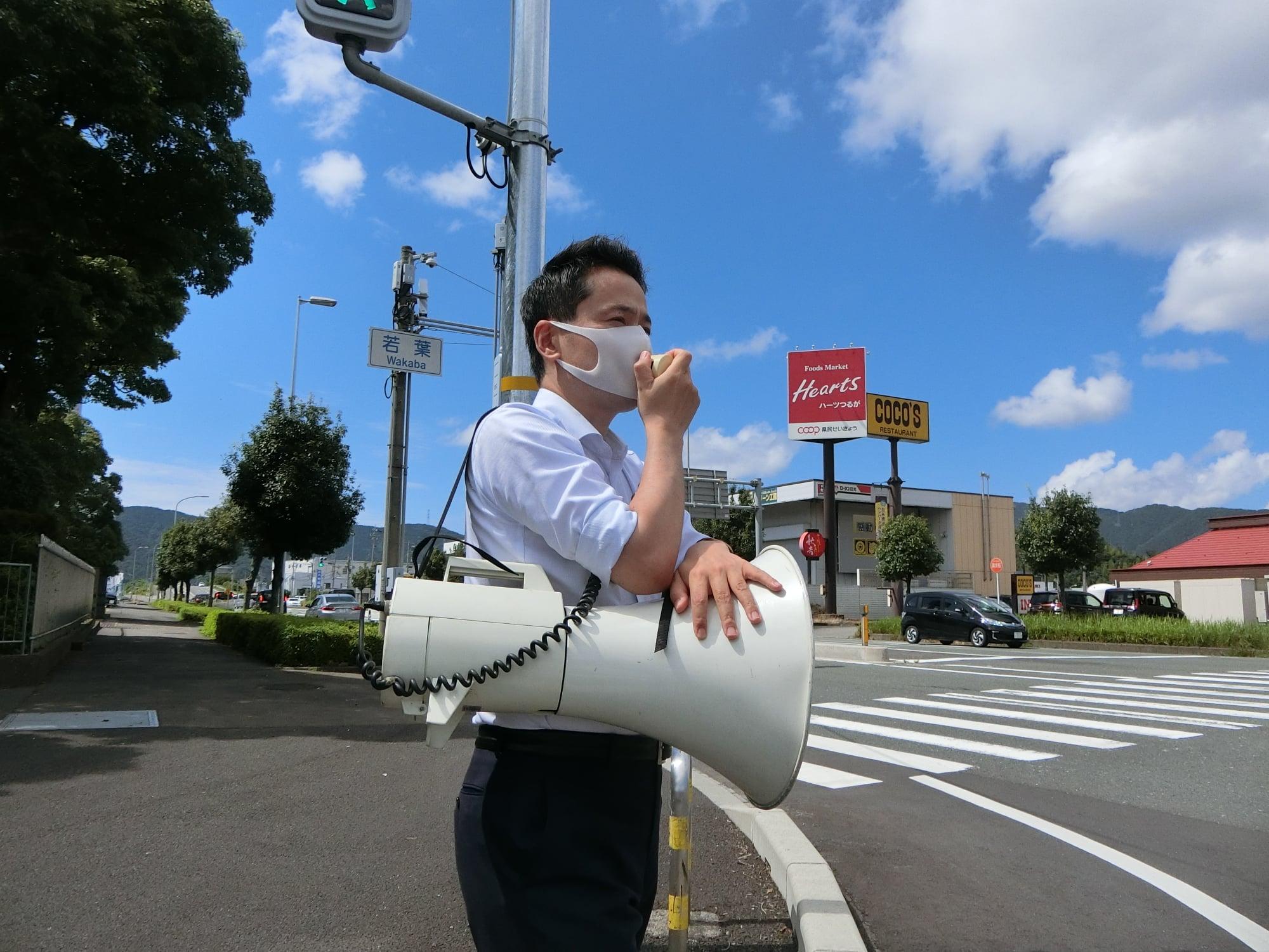 敦賀市の土産物店、不動産、飲食、農家の方などと意見交換