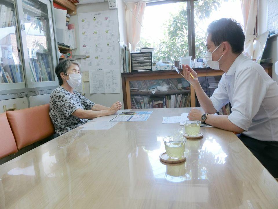 本日は鯖江市で様々な業種の方と意見交換しました。
